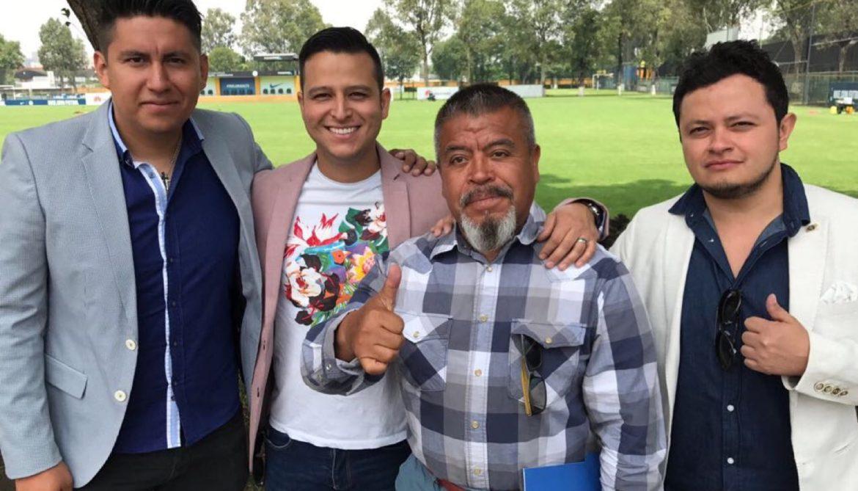 Francisco Reyes jefe de prensa del Club America